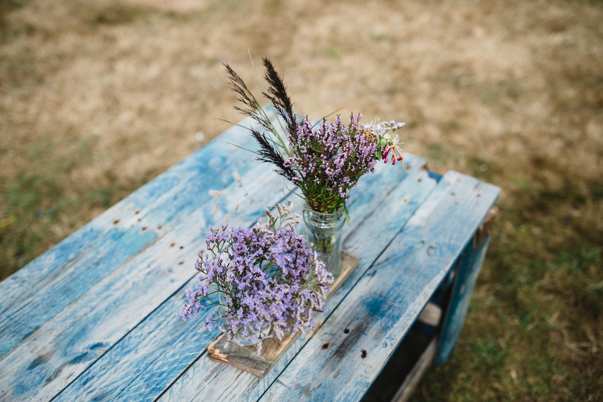 Kampeerboeketten Staatsbosbeheer bloemen op de camping Laurie Karine de fotograaf - 4844-2